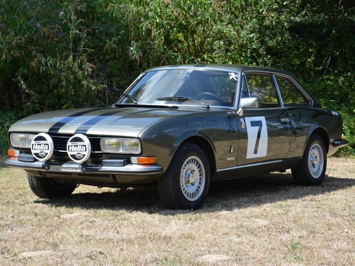 PEUGEOT 504 COUPE V6 ESSENCE 2.7
