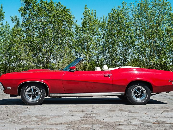 MERCURY COUGAR CONVERTIBLE 351 1969
