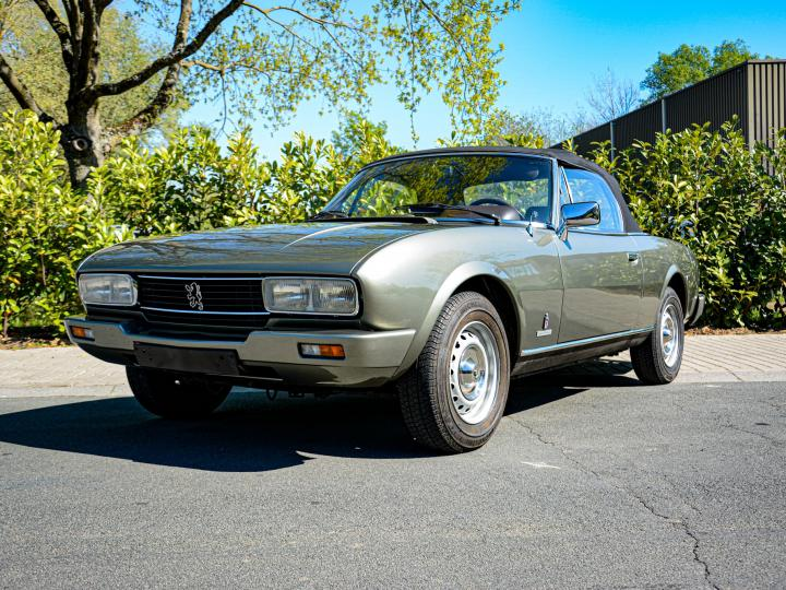 PEUGEOT 504 2.0 INJECTION CABRIOLET