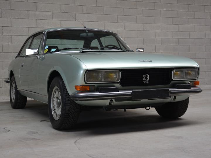 PEUGEOT 504 COUPE 2.0 INJECTION